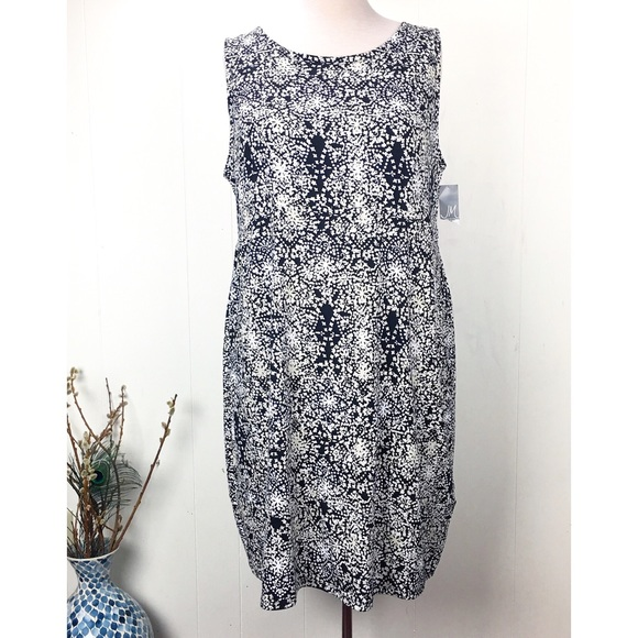 JM Collection Dresses & Skirts - NWT JM Collection Floral Sleeveless Dress 3X